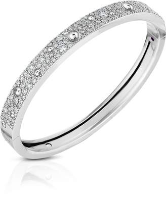 Roberto Coin Pois Moi Luna Pave Diamond Bangle