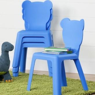 South Shore Crea Kids Chair Color: Blue