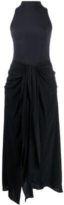Ssheena Halterneck Mid-Length Dress