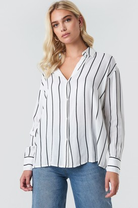 Rut & Circle Rut&Circle Oversized Stripe Shirt White