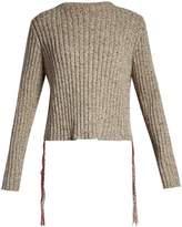 The Row Fenix stitch-detail cashmere sweater