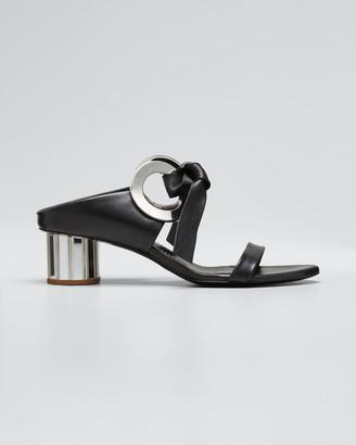 Proenza Schouler Spectra Rings Slide Sandals