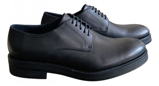 DSQUARED2 Black Leather Lace ups