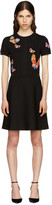 Valentino Black Butterfly Dress