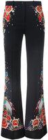 Roberto Cavalli floral print trousers - women - Viscose/Spandex/Elastane/Cotton - 40