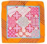 Etro Geometric Silk Pocket Square