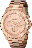 GUESS GUESS? Men's U0170G4 Rose- Stainless-Steel Quartz Watch with Rose- Dial