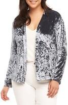 Tart Plus Size Women's Anaya Velvet Blazer