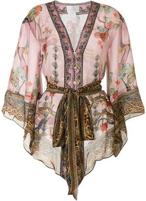 Camilla Shoulder Insert Kimono