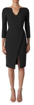 Black Halo Oklahoma Sheath Dress