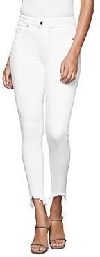 Good American Good Legs Frayed Hem Jeans