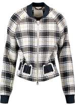 3.1 Phillip Lim Checked Woven Jacket
