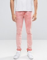 Always Rare Super Skinny Washed Pink Jean