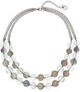 Simply Vera Vera Wang Beaded Double Strand Necklace