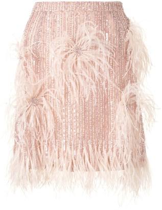 Rachel Gilbert Petunia rhinestone-embellished skirt