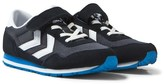 Hummel Blue and Black Total Eclipse Reflex Jr Trainers