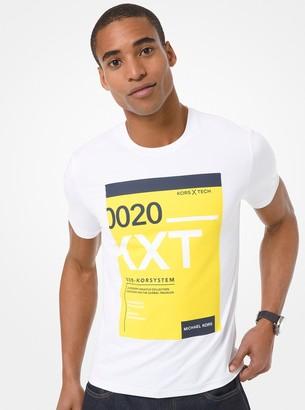 Michael Kors X TECH Graphic Jersey T-Shirt