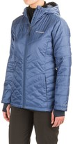 Columbia Omni-Heat® Mighty Lite Hooded Plush Jacket - Insulated (For Women)