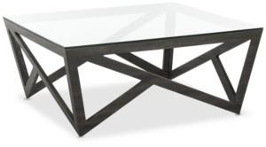 Safavieh Ralston Glass Top Coffee Table