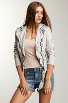 Muu Baa Muubaa Asha Genuine Leather Bomber Jacket