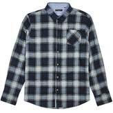 Burton Burton Brave Soul Blue And Grey Long Sleeve Checked Shirt*