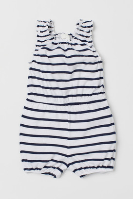 H&M Cotton Romper Suit