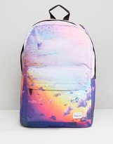 Spiral Clouds Backpack In Blue