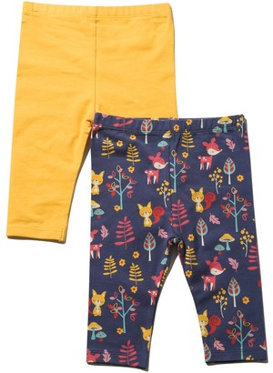 M&Co Animal leggings two pack (Tinybaby-18mths)