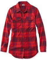 L.L. Bean Whisper Lodge Flannel Tunic