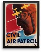 Vintage Images Vintage poster - Civil Air Patrol - Premium Luster Photo Paper Framed Poster