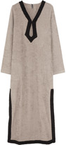 Lisa Marie Fernandez Cotton-terry long tunic