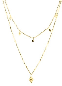 Argentovivo Layered Pendant Necklace in 14K Gold-Plated Sterling Silver, 14-16