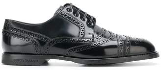 Dolce & Gabbana brogue derby shoes