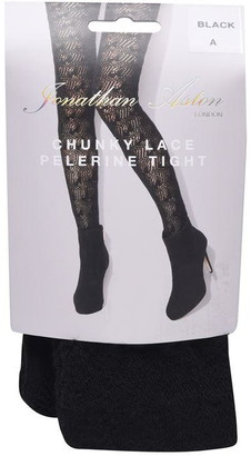Jonathan Aston Chunky Lace Pelerine Tights