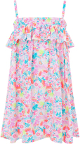Accessorize Tropical Butterfly Print Dress