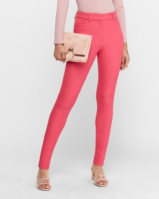 Express High Waisted Supersoft Twill Skinny Pant