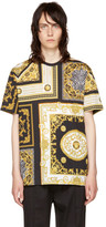 Versace Black & Gold Medusa T-Shirt