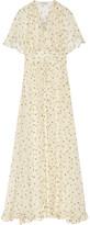 Paul & Joe DEFILE Ambera printed silk-chiffon maxi dress