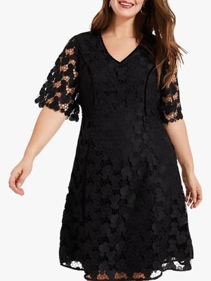 Studio 8 Lacey Dress, Black