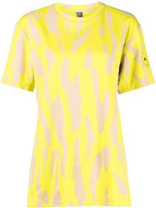 adidas by Stella McCartney abstract-print T-shirt