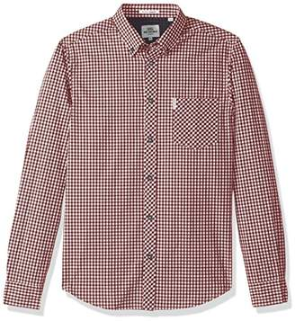 Ben Sherman Men's Long Sleeve Core Gingham