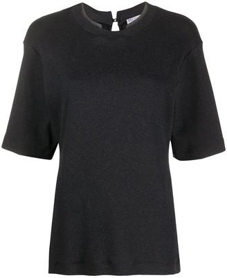 Brunello Cucinelli monili-embellished T-shirt