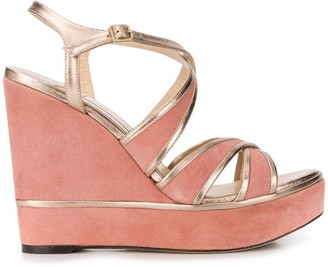 Jimmy Choo Alissa 120mm wedges