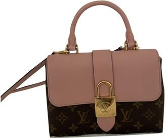 Louis Vuitton Locky BB Pink Cloth Handbags