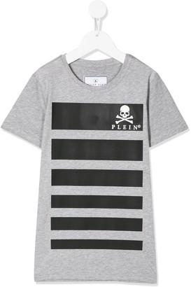 Philipp Plein skull logo crew-neck T-shirt
