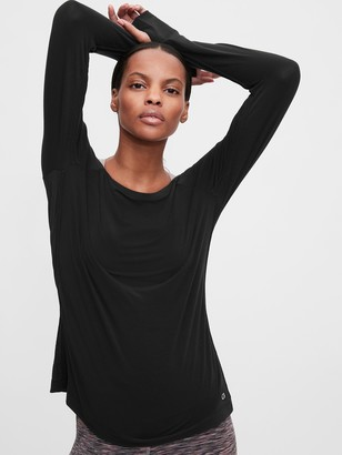 Gap GapFit Breathe Boatneck T-Shirt