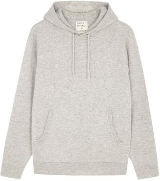 Peoples Republic of Cashmere People's Republic Of Cashmere Grey Hooded Cashmere Jumper