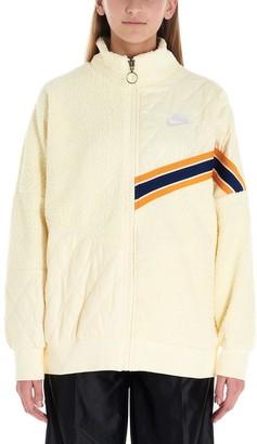 Nike Oversized Patchwork Track Jacket