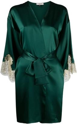 Gilda & Pearl silk Gina robe