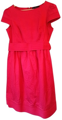Carolina Herrera Red Cotton Dress for Women